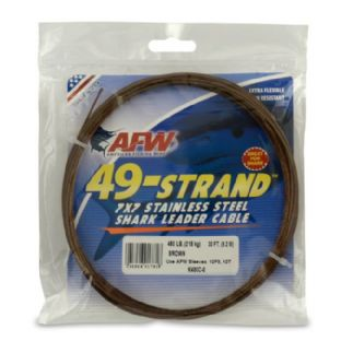 AFW 49 Strand 7x7 SS Shark Wire - 480lb